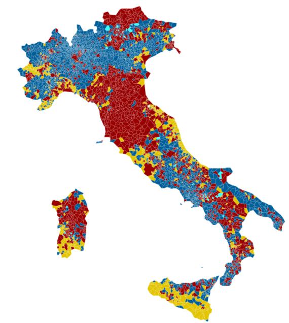 La mappa è un'elaborazione di YouTrend.it