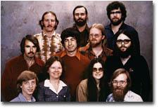 Bill Gates ed il suo staff 25 anni fa