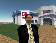 Morris Gabetti, l'agente immobiliare virtuale