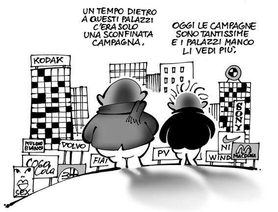 Una vignetta tratta dal blog 'Una Vignetta' di PV64